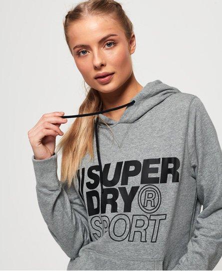 Superdry Core Sport Overhead Hoodie Damen Hoodies