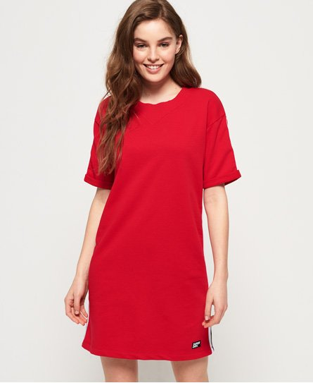 Superdry Georgia Short Sleeve Sweat Dress