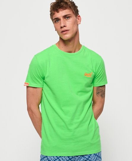 Superdry T-shirt fluo Orange Label