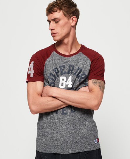 Track & Field Baseball-T-Shirt - Superdry - Modalova
