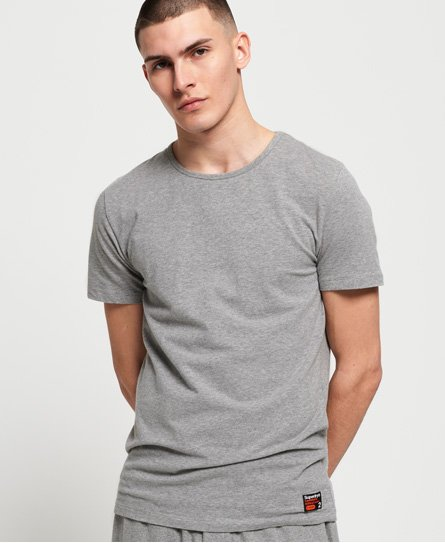 Superdry T-shirt slim Lounge en coton bio SD Laundry