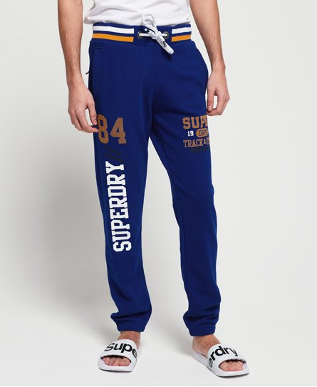 Superdry Pantalon de survêtement léger à revers Track & Field