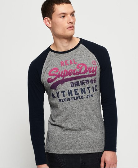 Superdry Vintage Authentic Raglan Long Sleeve T-Shirt
