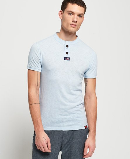Superdry Homestead Short Sleeve Lite Grandad top