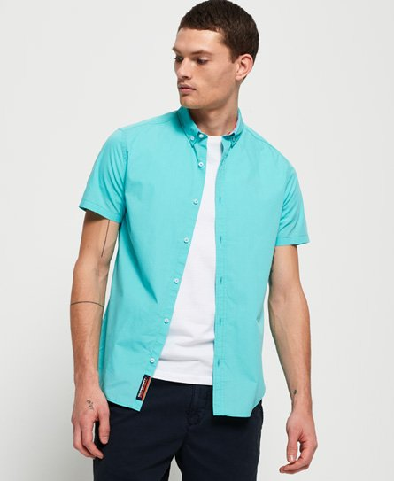 Superdry International Poplin Short Sleeve Shirt