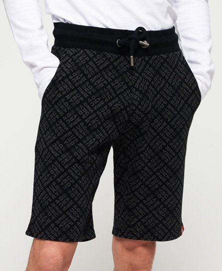 Superdry Superdry All Over Print Washed Shorts