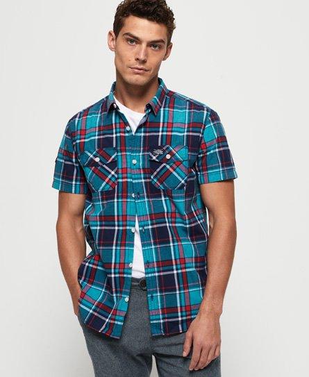 Superdry Washbasket overhemd met korte mouwen