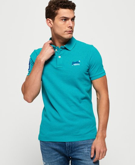 Superdry Polo in piqué classica