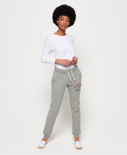 Superdry Pantalon de survêtement léger avec logo appliqué