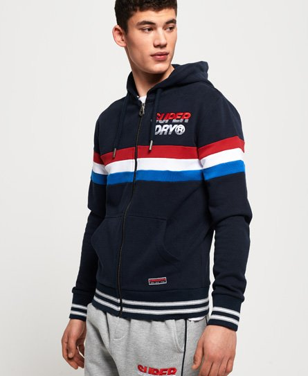 Superdry Smart Applique Zip Hoodie