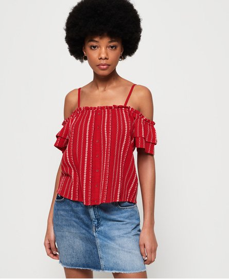 Superdry Rachel Peekaboo Top