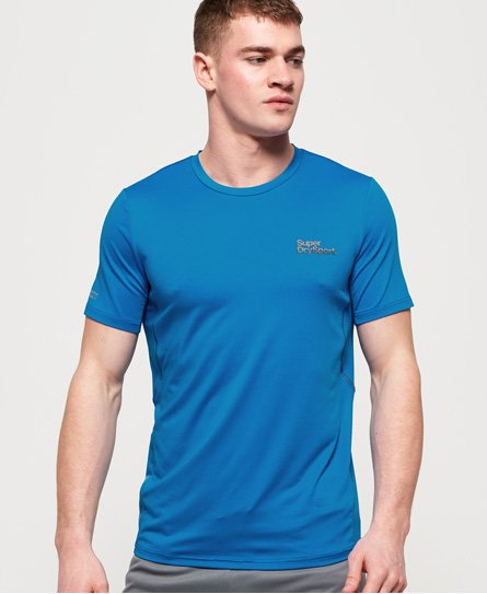 Superdry T-shirt jacquard camouflage Active
