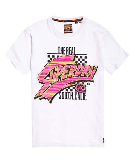 Superdry T-Shirt oversize Acid Graphic Mid Weight