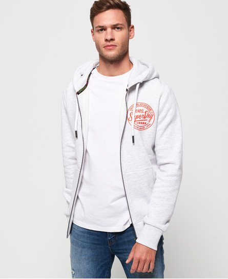 Superdry Felpa con cappuccio e zip Ticket Type