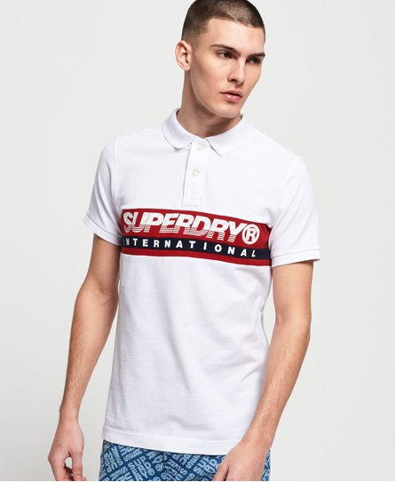 Superdry International Chest Band Polohemd