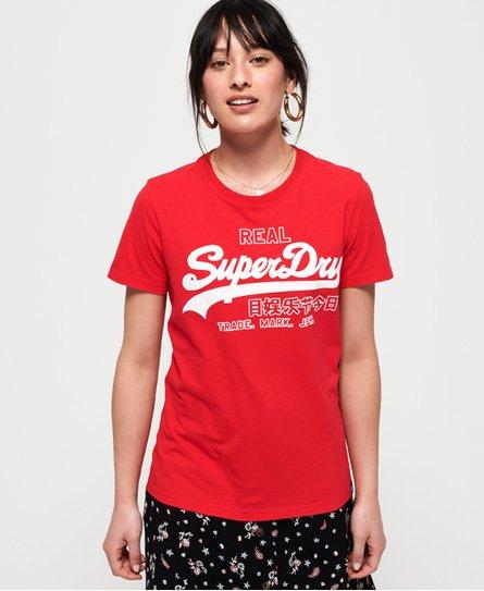 Superdry Vintage Logo Code Shimmer T-Shirt