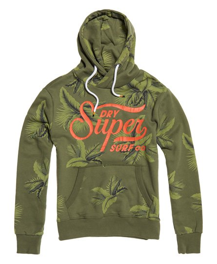 Superdry Super Surf Crossover All Over Print Hoodie
