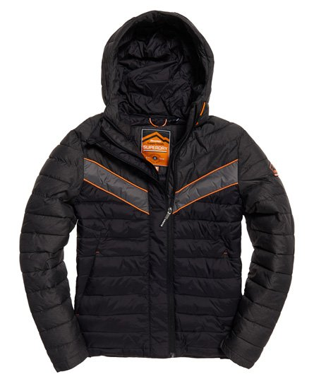 Superdry Marl Mix Chevron Fuji Jacket