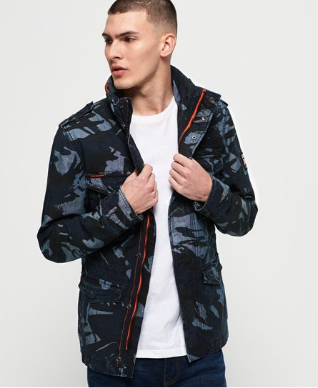 Superdry Indigo Rookie Pocket Jacket