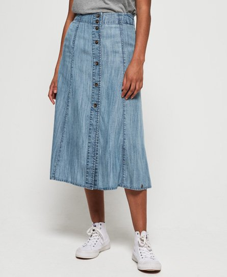 14461c859a380c Skirts | Skater & Denim Skirts | Mini & Midi Skirts | Superdry