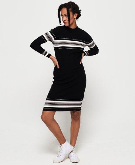 Hallie Stripe Midi Dress152201