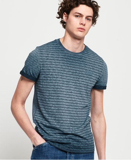 Superdry Low Roller Clash Stripe T-Shirt