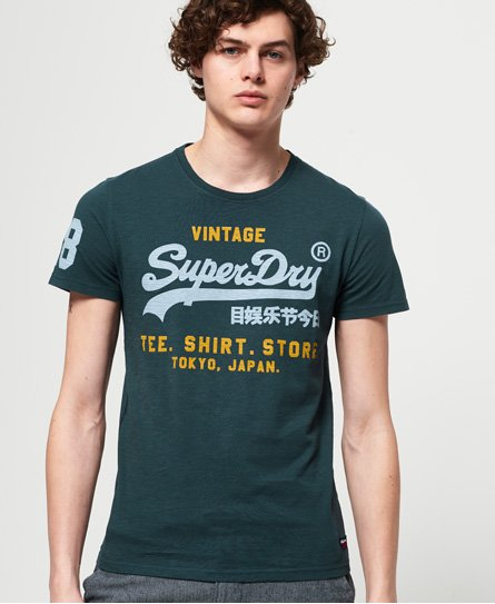 Superdry T-shirt Shirt Shop Duo Mid