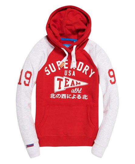 Superdry Team Sport Raglan Hoodie