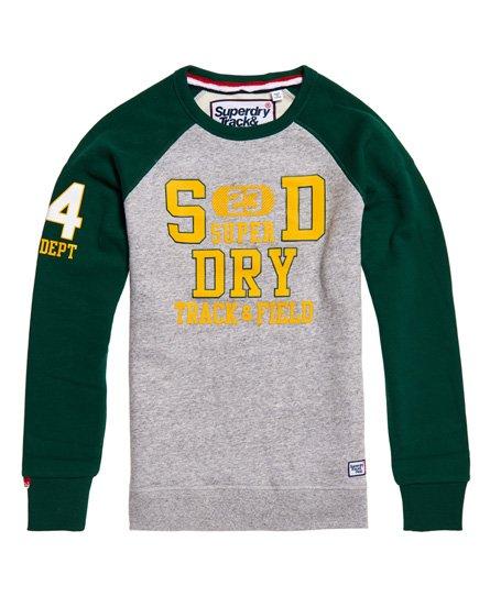 Superdry Trackster Baseball Crew Sweatshirt