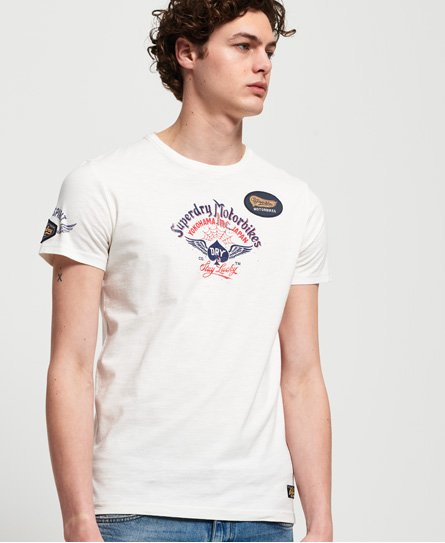 Superdry Motor Backprint Mid T-Shirt