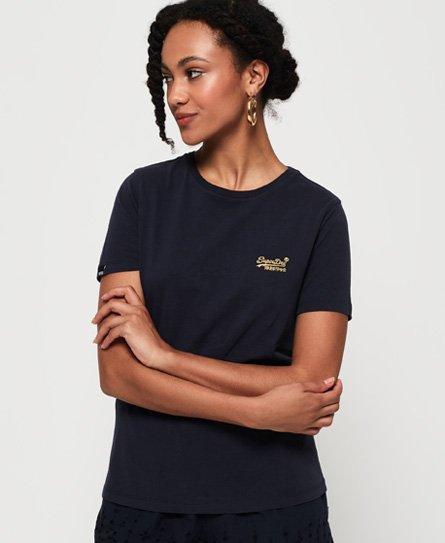 Superdry T-shirt Core Elite Orange Label