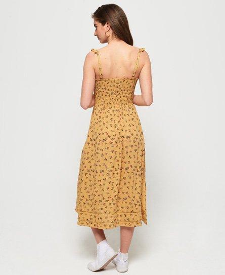 ade15c69874 Superdry - Robe mi-longue Rae - Robes pour Femme