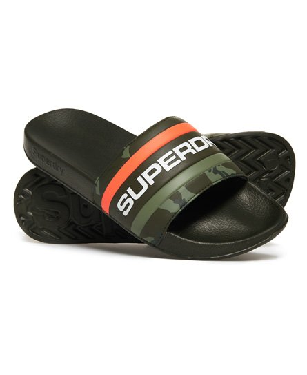 Superdry Retro Colour Block Sliders