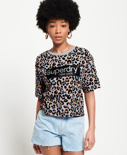 Superdry Lilly T-Shirt mit Grafikprint