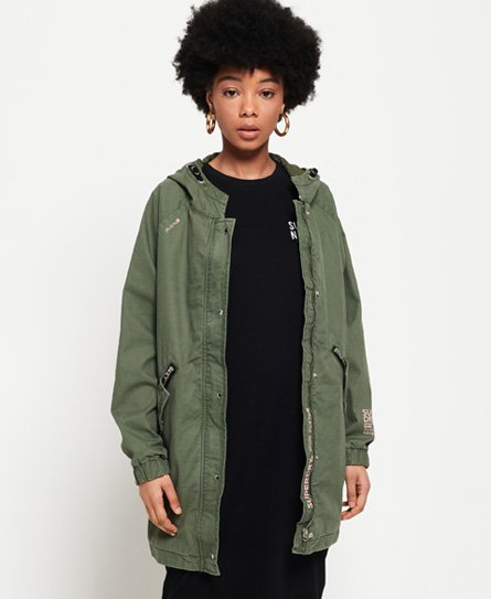 Superdry Bianca Oversized Parka Jacket