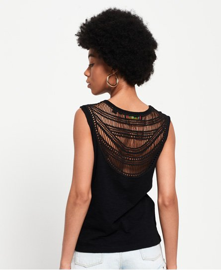 Liana Crochet Back Vest Top146427