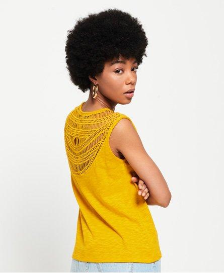 76f945930a Superdry - Débardeur à dos crocheté Liana - Tops pour Femme