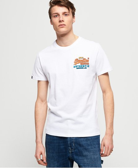 Superdry Vintage Logo Authentic Tri T-Shirt