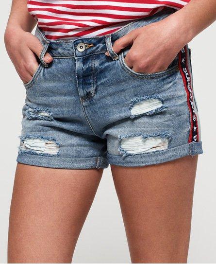 Superdry Steph boyfriend-shorts