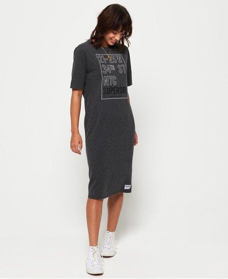 Superdry Kellow Graphic Midi Dress