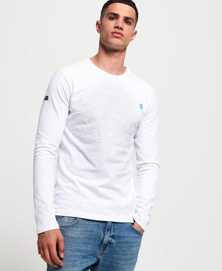 Superdry T-shirt à manches longues ton sur ton Premium Goods
