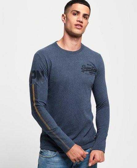 Superdry T-shirt à manches longues Vintage Logo 1st