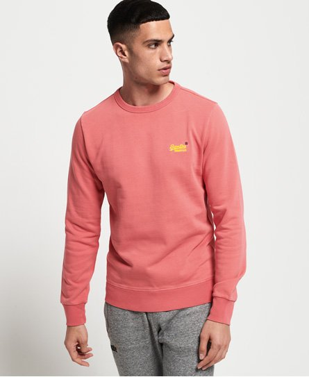 Superdry Orange Label Pastel Line Crew Sweatshirt