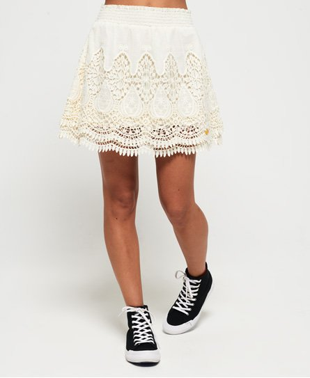 Superdry Amanda Lace Skirt