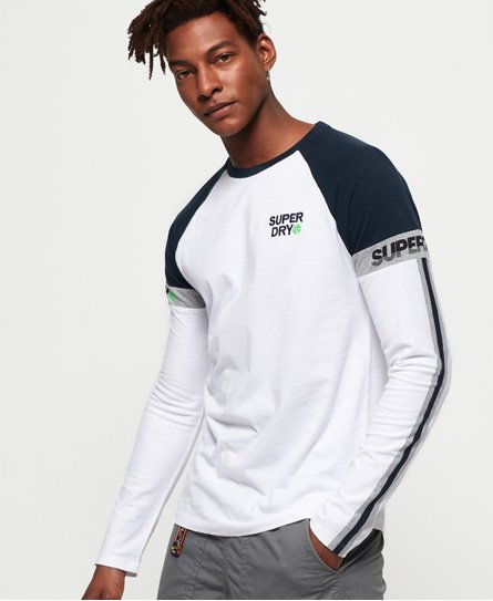 Superdry T-shirt Stacked Moto Label