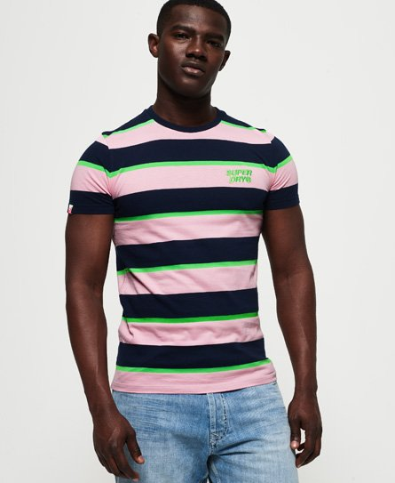 Superdry Stacked Skate Lux Stripe T-shirt