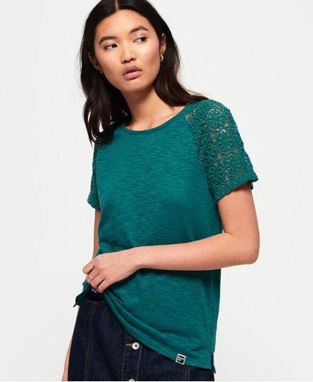 Superdry T-shirt à manches raglan Lace Elisa