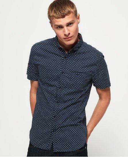 Superdry Premium Shoreditch Print Short Sleeve Shirt