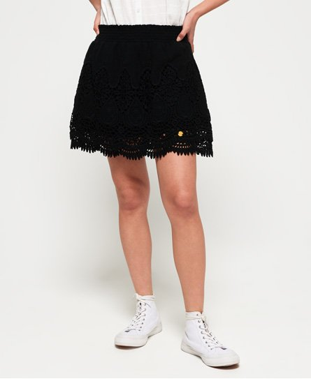 Superdry Amanda Lace Skirt