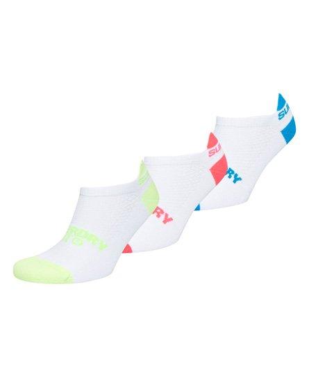 Coolmax Graphic Trainer Socks - 3 Pack117486